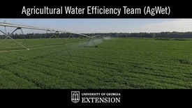 Thumbnail for entry Innovative UGA Extension Research - Agricultural Water Efficiency Team (AgWet)