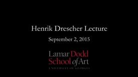 Thumbnail for entry Lecture: Henrik Drescher