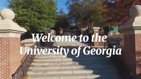 Thumbnail for entry Welcome to UGA!