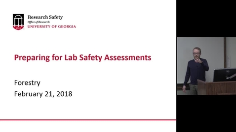 Thumbnail for entry Lab Safety  2-2018