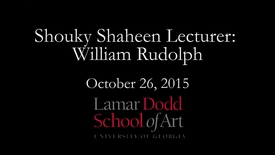 Thumbnail for entry Shouky Shaheen Lecture: William Randolph