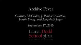 Thumbnail for entry Archive Fever: September 2015