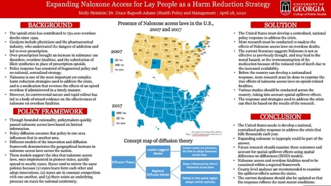 Thumbnail for entry Heinlein Molly-HPAM-Naloxone as Harm Reduction Strategy-Video