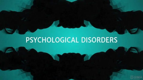 Thumbnail for entry Disorders
