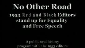 "Thumbnail for entry ""No Other Road: 1953 "", UGA Red and Black"