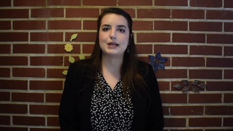 Thumbnail for entry Three Minute Thesis 2020: Sarah Mayo