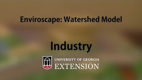 Thumbnail for entry Enviroscape Watershed Model - Industry