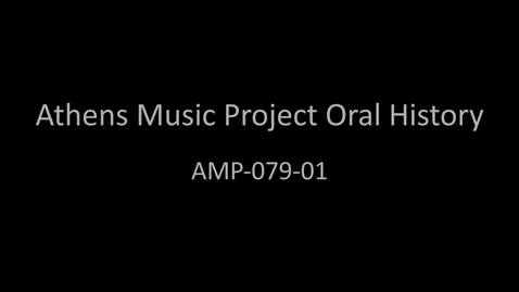Thumbnail for entry Sylvanus Zeke Turner, Part 1, Athens Music Project Oral History