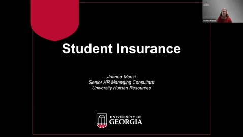 Thumbnail for entry Student Health Insurance 2021