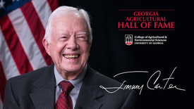 Thumbnail for entry Jimmy Carter - Georgia Agricultural Hall of Fame Winner 2018