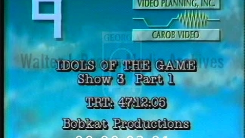 Thumbnail for entry Idols of the Game. [No. 3, 1995-11-30], Love and Money | 5-6 of 6 | 95209dct-5