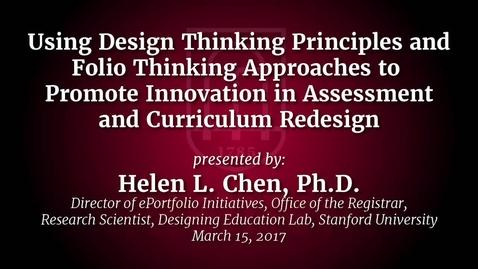 Thumbnail for entry CTL Speaker Series - Helen Chen