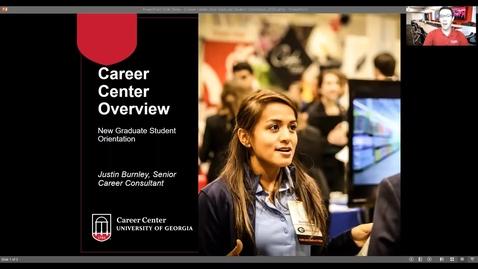 Thumbnail for entry UGA Career Center