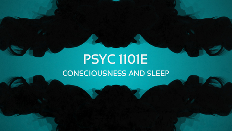 Thumbnail for entry Consciousness and Sleep