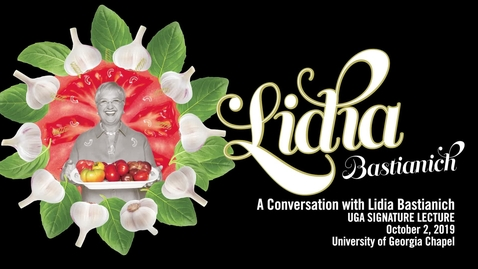 Thumbnail for entry A Conversation with Lidia Bastianich