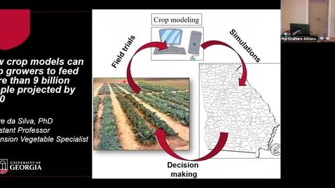Thumbnail for entry Horticulture Seminar - Dr. Andre da Silva 3/4/20