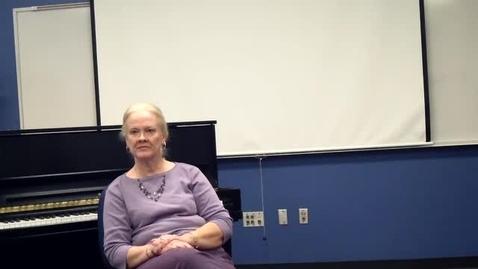 Thumbnail for entry Brenda Poss, Music Teachers' Stories
