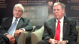 Thumbnail for entry Mack Mattingly and Johnny Isakson interviewed by Sheryl Vogt