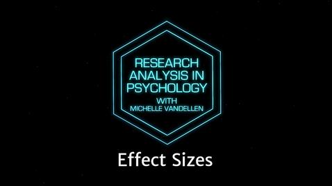 Thumbnail for entry Lightboard: Effect Sizes