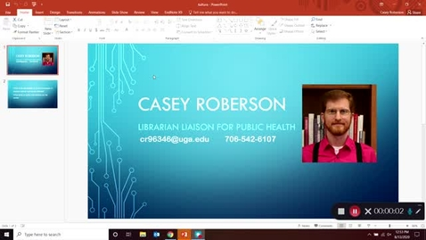 Thumbnail for entry Searching EBSCO databases part 1 - basic