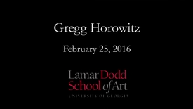 Thumbnail for entry Lecture: Greg Horowitz