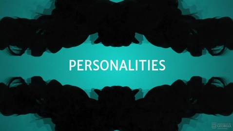 Thumbnail for entry Personalities