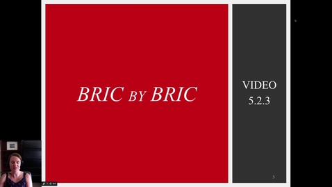 Thumbnail for entry 5.2.3 Video: BRIC by BRIC