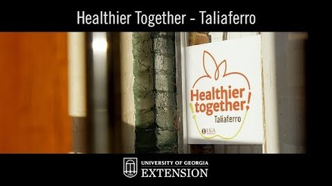 Thumbnail for entry Innovative UGA Extension Program - Healthier Together