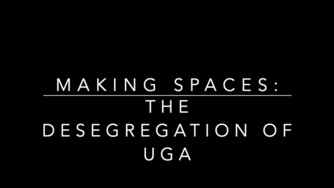 Thumbnail for entry Gallery Highlight: The Desegregation of UGA