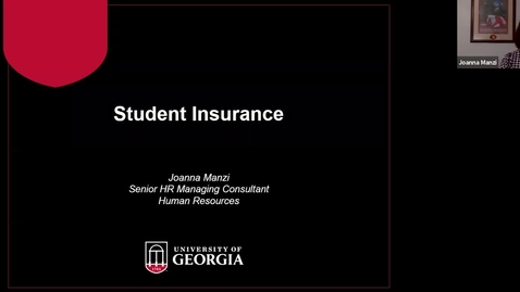 Thumbnail for entry Student Health Insurance