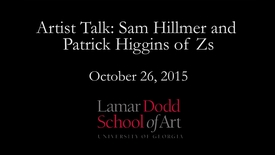 Thumbnail for entry Artist Talk: Sam Hillmer and Patrick Higgins of Zs