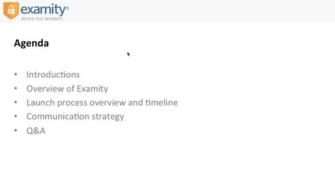 Examity Overview