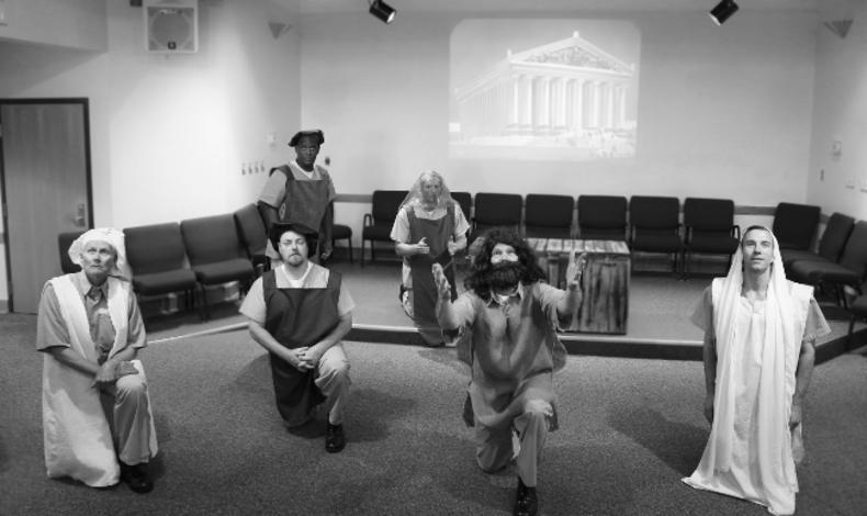 Figure 4. Imploring the Gods. Photo credit: Holly Stone.