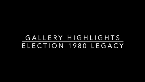 Thumbnail for entry Election 1980: Legacy