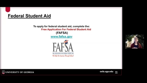 Thumbnail for entry OSFA - Federal Student Aid.mp4