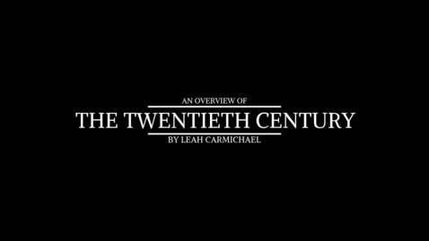 Thumbnail for entry Twentieth Century