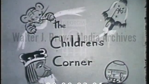 Thumbnail for entry The Children's Corner. [1955-02-12] | 55018cyt-1