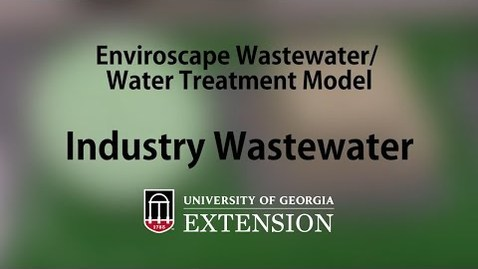 Thumbnail for entry Enviroscape Wastewater-Water Treatment Model - Industry Waste
