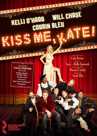 Figure 2. Roundabout Theatre's Kiss Me, Kate promotional poster. Image credit: Polk & Co.