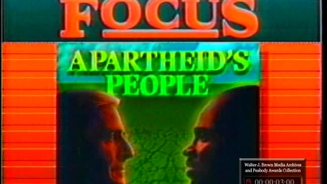 Thumbnail for entry The MacNeil/Lehrer Newshour, Apartheid's People | Part 1 of 2 | 85084nwt-1