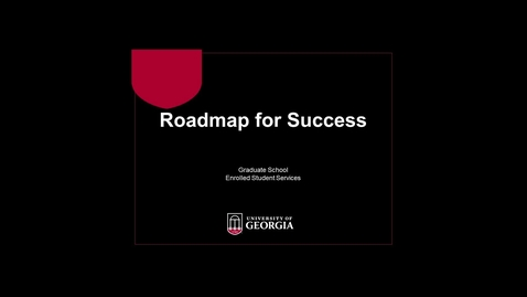 Thumbnail for entry Roadmap to Success