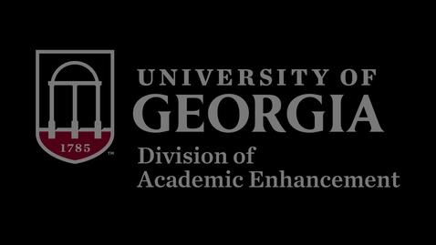 Thumbnail for entry Academic Success at Georgia