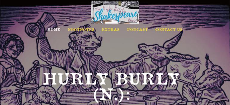 Hurly Burly homepage