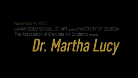 Thumbnail for entry AGAS Lecture: Dr. Martha Lucy