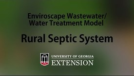 Thumbnail for entry Enviroscape Wastewater-Water Treatment Model - Rural Septic System