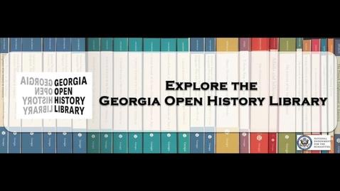 Thumbnail for entry Georgia Open History Library tour stop