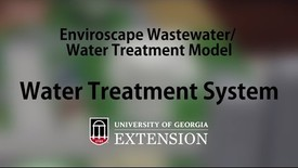 Thumbnail for entry Enviroscape Wastewater-Water Treatment Model - Water Treatment System