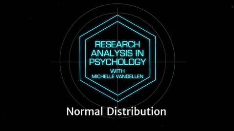 Thumbnail for entry Lightboard: Normal Distribution Examples