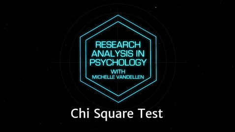 Thumbnail for entry Lightboard: Chi Square Test