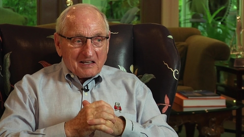 Thumbnail for entry Coach Vince Dooley, Part 3, UGA Athletics Oral History Collection